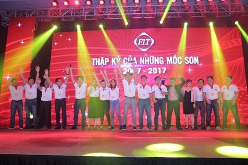 Lễ kỷ niệm 10 năm thành lập FIT Group