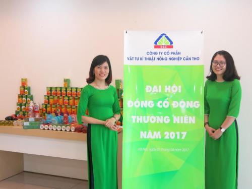 ĐHĐCĐ Công ty CP Vật tư Kỹ thuật Nông nghiệp Cần Thơ (TSC) 2017