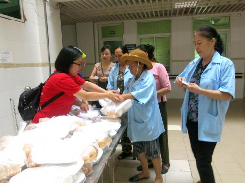 FIT donated charitable rice portions for patients in hospitals 2018