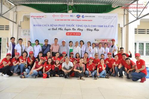 IT to provide medical examination and treatment for 1000 people in Binh Phu, Dong Thap