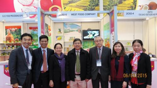 FIT's  Board of Management take part in the Japan Fair introduce Westfood products