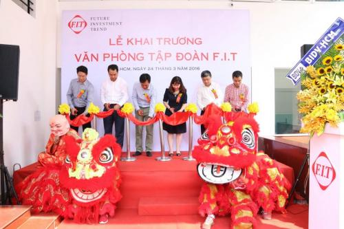 FIT Group held the opening ceremony in HCM City